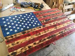 wooden american flag wall most interesting wood american flag wall with wooden pallet
