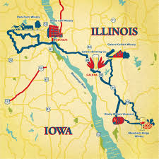 Illinois Brewery Map by Illinois U0027 Mississippi River Valley Galena Illinois Motorhome
