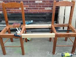 How To Make A Seat Cushion For A Bench The 25 Best Dining Bench With Back Ideas On Pinterest