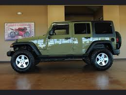 gecko green jeep for sale 2013 jeep wrangler unlimited freedom edition 6 speed manual 4 door
