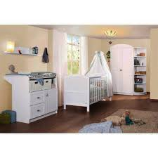 chambre laqué blanc chambre bébé en bois laqué blanc