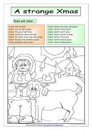 free worksheets christmas english worksheets free math