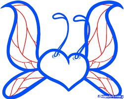 how to draw a fairy heart step by step tattoos pop culture