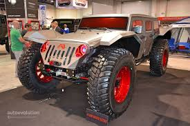 sema jeep yj the best and worst of sema 2014 autoevolution