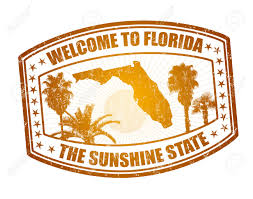 Florida travel pictures images Welcome to florida travel stamp on white vector illustration jpg