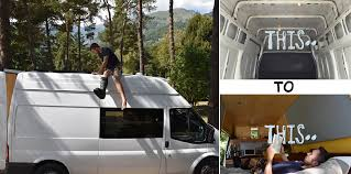 off grid living ideas how to convert a van into an off grid cer home design garden