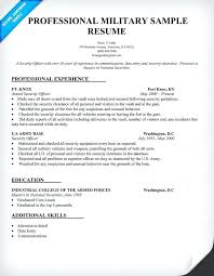 military resume examples and samples u2013 topshoppingnetwork com