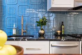 blue tile backsplash kitchen 15 fresh kitchen backsplash ideas