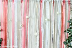 fabric backdrop lace and ribbon wedding backdrop handmaker of things