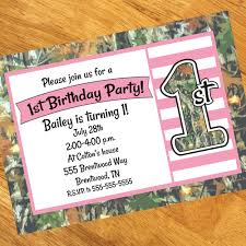 pink camo 1st birthday party supplies