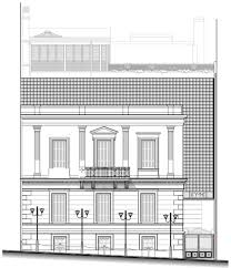 Floor Plan Of Bank by Restoration Of Neoclassical Building Of Bank Of Greece Dolihos