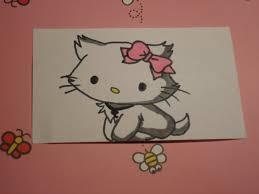 draw kitty dog version