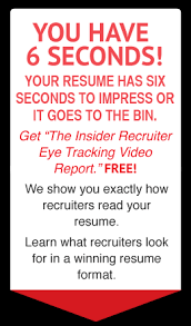 Resume 6 Seconds Is Your Resume 6 Second Worthy J T O Donnell Linkedin Recruiters