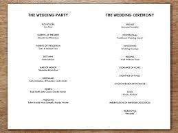 wedding program printable printable wedding program monogram arrows e m papers