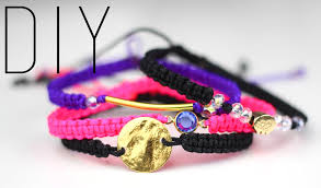 bracelet diy macrame images Tutoriel diy bracelets en macram diy do it yourself by png&a