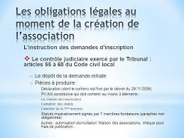 autorisation domiciliation si e social obligations legales et relations avec le tribunal d instance ppt