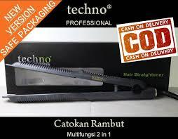 Catokan Techno Profesional flat irons techno lazada co id