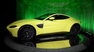 lime green aston martin la auto show 2017 the star cars