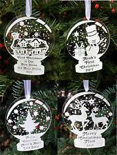 snowglobe tree ornaments ebay