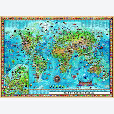 World Map Puzzles by Heye Amazing World Map Jigsaw Puzzle 3000 Heye Jigsaw Puzzles