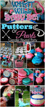 putters or pearls gender reveal party baby barrett is a