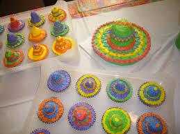 sombrero smash cake and cupcakes cinco de mayo mexican maks