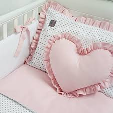 Baby Cot Bedding Sets New Exclusive Luxury Baby Bedding Set White Grey Polka