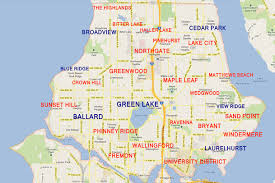 seattle map green lake seattle real estate homes for sale in seattle wa