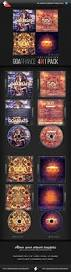 goa trance cd cover templates bundle cd cover template cover