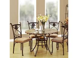 5 piece dining room sets acme furniture kleef casual 5 piece dining set del sol furniture