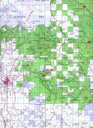State Of Washington Map by Buy And Find Washington Maps Bureau Of Land Management Hunting Units