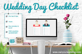 Wedding Planning Spreadsheet Real Life Wedding Planning Own Your Wedding