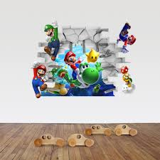 Wall Mural Childrens Bedroom Online Get Cheap Mario Bros Wall Mural Aliexpress Com Alibaba Group