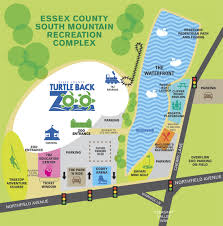 Zip Code Map Orange County by South Mountain Recreation Complex Essex County Parks
