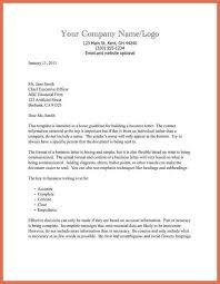 Business Letter Format Sent Via Email Formal Business Letter Example Example Formal Letter Of Complaint