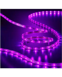 amazing deal on philips led 135 ct rope lights purple