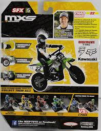 cast of motocrossed amazon com mxs motocross sfx bike u0026 rider series 5 chad reed