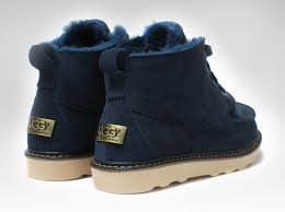 ugg australia blue chester sheepskin ugg bailey charms sheepskin boots 5788 navy blue