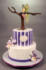 conure u0026 orchid wedding cake cakecentral com