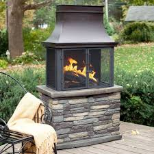 Sunjoy Amherst Fireplace by Small Outdoor Fireplaces Excellent Home Design Gallery To Small
