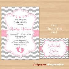 printable chevron pink grey baby shower by crimsoncupcake