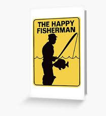 fishing funny greeting cards redbubble
