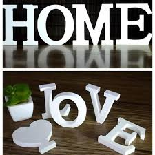 wedding decorations wooden letters white wood alphabet decoration