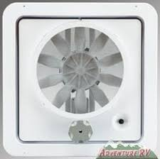 Rv Bathroom Exhaust Fan by Rv Ceiling Fan 12v Volt Roof Vent Multi Speed Vortex Ii Camper