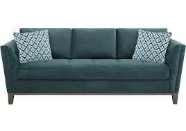 Sofas More Green Sofas U0026 Couches Fabric Microfiber U0026 More