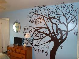 how to make your own custom sign tree painted on a wall