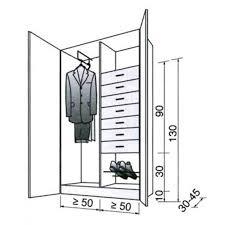 superficie minimum chambre dimension dressing dimension placard tous nos plans pour