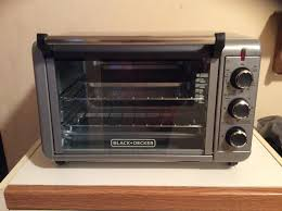 Black And Decker Home Toaster Oven 6 Slice Convection Countertop Oven Black Decker