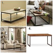 Industrial Coffee Table Diy Industrial Coffee Table Do It Yourself Home Projects From Ana