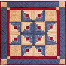 Quilting Kits Log Cabin Quilt Kit Complete Quilting Kits For Beginners At